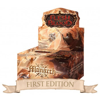 Flesh & Blood TCG - Monarch (First Edition) Booster Box *Pre-Order*