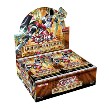 Yu-Gi-Oh Lightning Overdrive Booster Box *Pre-Order*