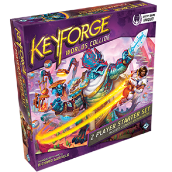 Keyforge World's Collide 2 Player Starter Set
