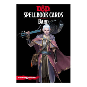 D&D Spellbook Cards: Bard