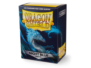 Dragon Shield Night Blue Matte Sleeves 100pc