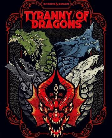 D&D Tyranny Of Dragons Book (Alternate Cover)