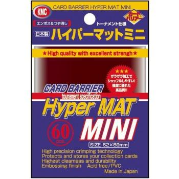 KMC Hyper Mat Mini Red 60pc