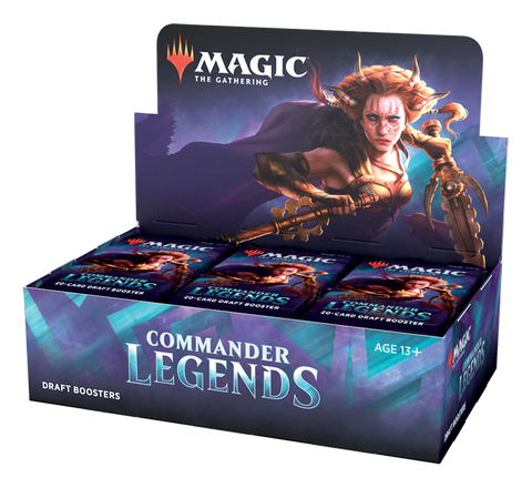 MTG Commander Legends Booster Box
