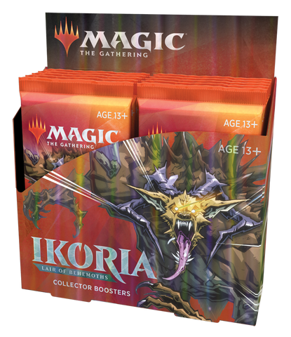 MTG Ikoria: Lair Of Behmoths Collection Booster Box