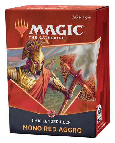 MTG Challenger Deck 2021 (Mono Red Aggro)
