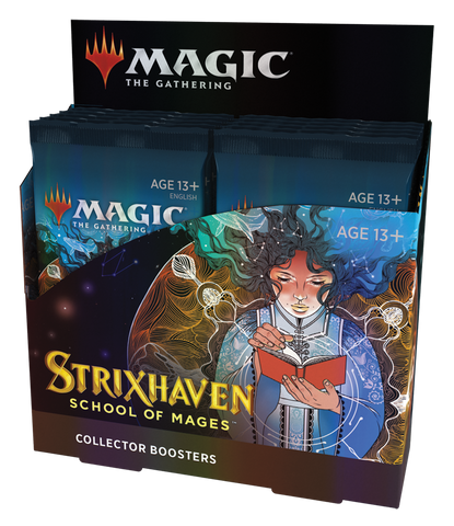 MTG Strixhaven: School Of Mages Collector Booster Box *Pre-Order*