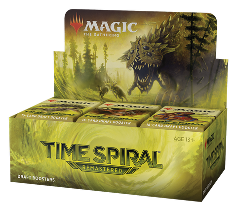 MTG Time Spiral Remastered Draft Booster Box *Pre-Order*