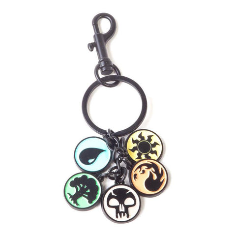Magic: The Gathering Mana Symbol Keychain With Metal Charms