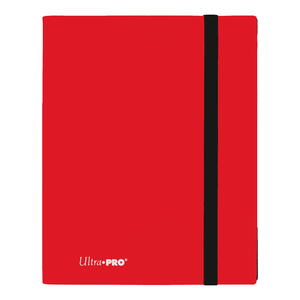 UP Eclipse Pro - 9 Pocket Binder Apple Red