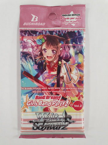 Weiss Schwarz Bang Dream Girl Band Party Vol.2 Booster Pack