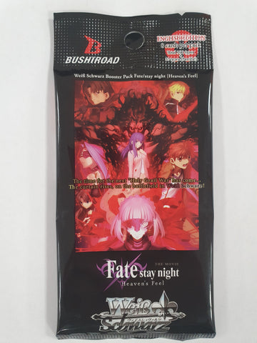Weiss Schwarz Fate Stay Night Heaven's Feel Booster Pack