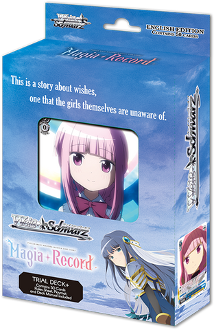 Weiss Schwarz TV Anime Magia Record: Puella Magi Madoka Magica Side Story Trial Deck+