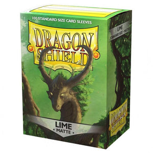 Dragon Shield - Lime Matt Sleeves (100pc)