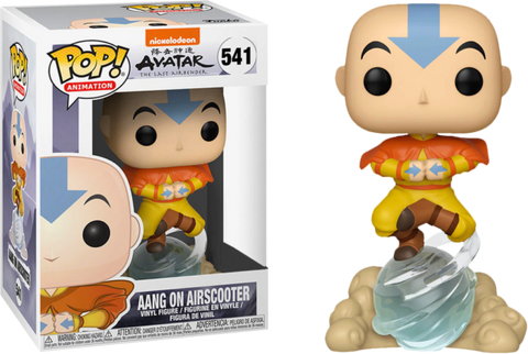Avatar The Last Airbender - Aang on Air Bubble Exclusive Funko POP!