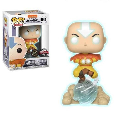 Avatar The Last Airbender - Aang on Air Bubble (Glow In The Dark) Chase Exclusive Funko POP!
