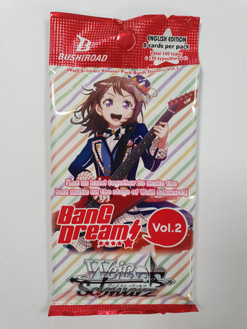 Weiss Schwarz BanG Dream! Vol.2 Booster Pack