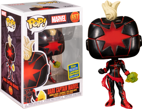 Captain Marvel - Dark Captain Marvel Summer Convention 2020 Funko POP!