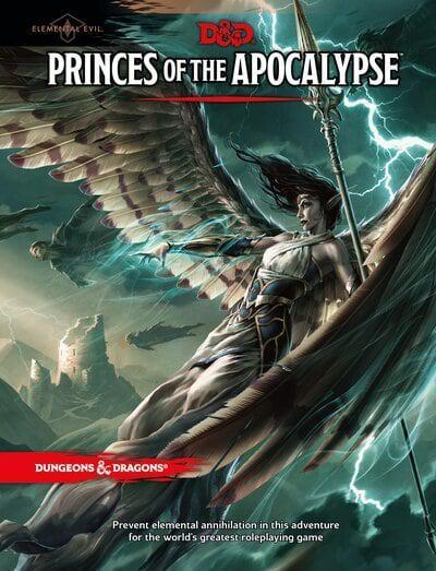 D&D Princes of the Apocalypse Book