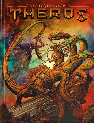 D&D Mythic Odyseeeys Of Theros Book (Alternate Cover)