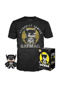 Batman - Batman Sun Faded Exclusive Funko Pop! Tee Box