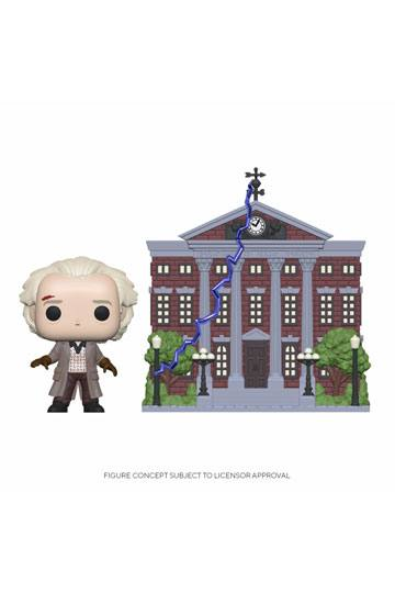Back To The Future - Doc With Clock Tower Funko POP!