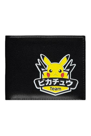 Pokemon Team Pikachu Bifold Wallet