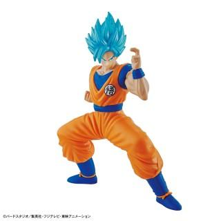 Dragon Ball Model Kit - Entry Grade Super Saiyan God Super Saiyan Son Goku