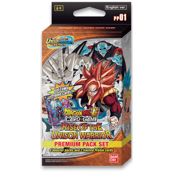 Dragon Ball Super Rise Of The Unison Warrior Premium Pack Set 1