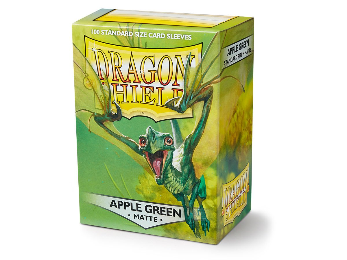 Dragon Shield Apple Green Matt Sleeves 100pc