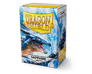 Dragon Shield Sapphire Matte Sleeves 100pc