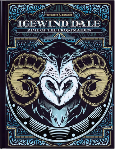 D&D Icewind Dale: Rime of the Frostmaiden Book (Alternate Cover)