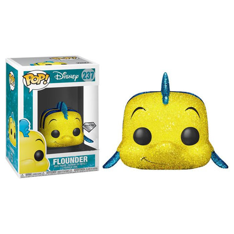 Disney Diamond Collection - Flounder Glitter Funko POP!