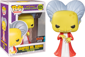 The Simpsons - Vampire Mr Burns Fall 2019 Exclusive Funko POP! *Damaged Box*