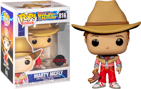 Back To The Future Part 3 - Marty In Cowboy Outfit Exclusive Funko POP!