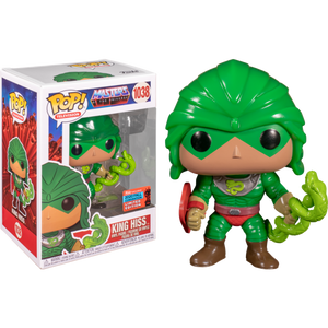 Masters of the Universe - King Hiss Fall Convention 2020 Funko POP!