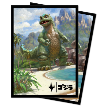 UP MTG Babygodzilla, Ruin Reborn Standard Sleeves 100pc