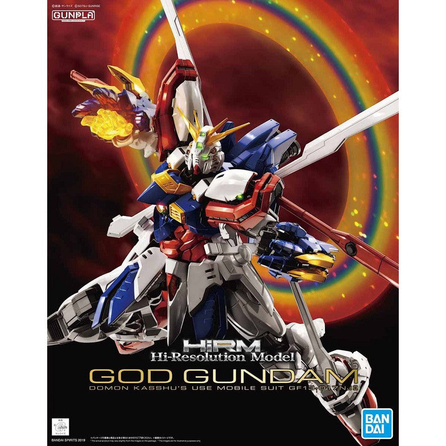 Gundam Model Kit - Hi-Resolution Model God Gundam 1/100
