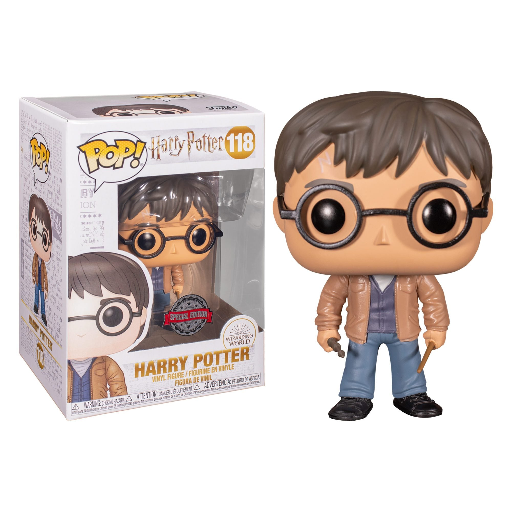 Harry Potter - Harry With 2 Wands Exclusive Funko POP!