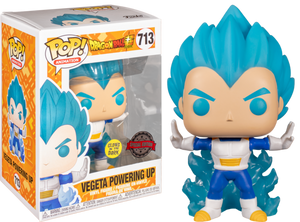 Dragon Ball Z - Vegeta Powering Up Glow In The Dark Exclusive Funko POP!