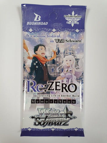 Weiss Schwarz Re:ZERO Starting Life In Another World - Memory Snow Booster Pack