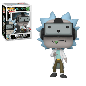 Rick & Morty - Gamer Rick Exclusive Funko POP!