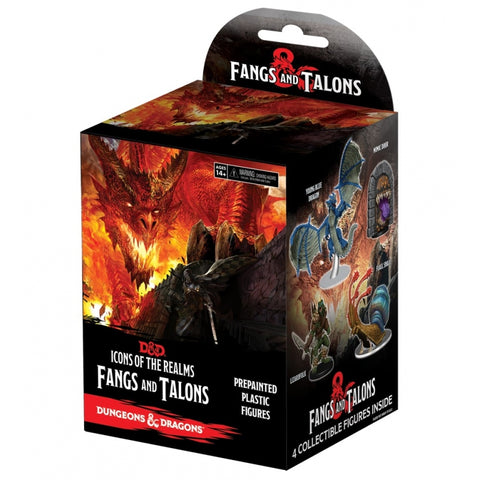 D&D Icons of the Realms - Fangs and Talons Booster Pack