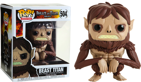 Attack On Titan - Beast Titan Oversized Exclusive Funko POP!
