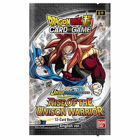 Dragon Ball Super Rise Of The Unison Warriors Set 10 Booster Pack