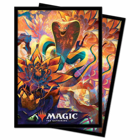 UP MTG Zendikar Rising V5 Standard Sleeves 100pc
