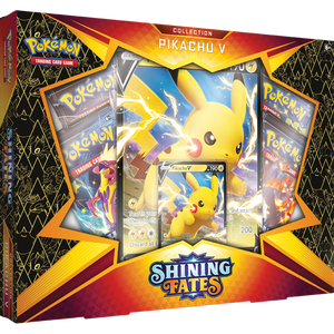 Pokemon Shining Fates Pikachu V-Box