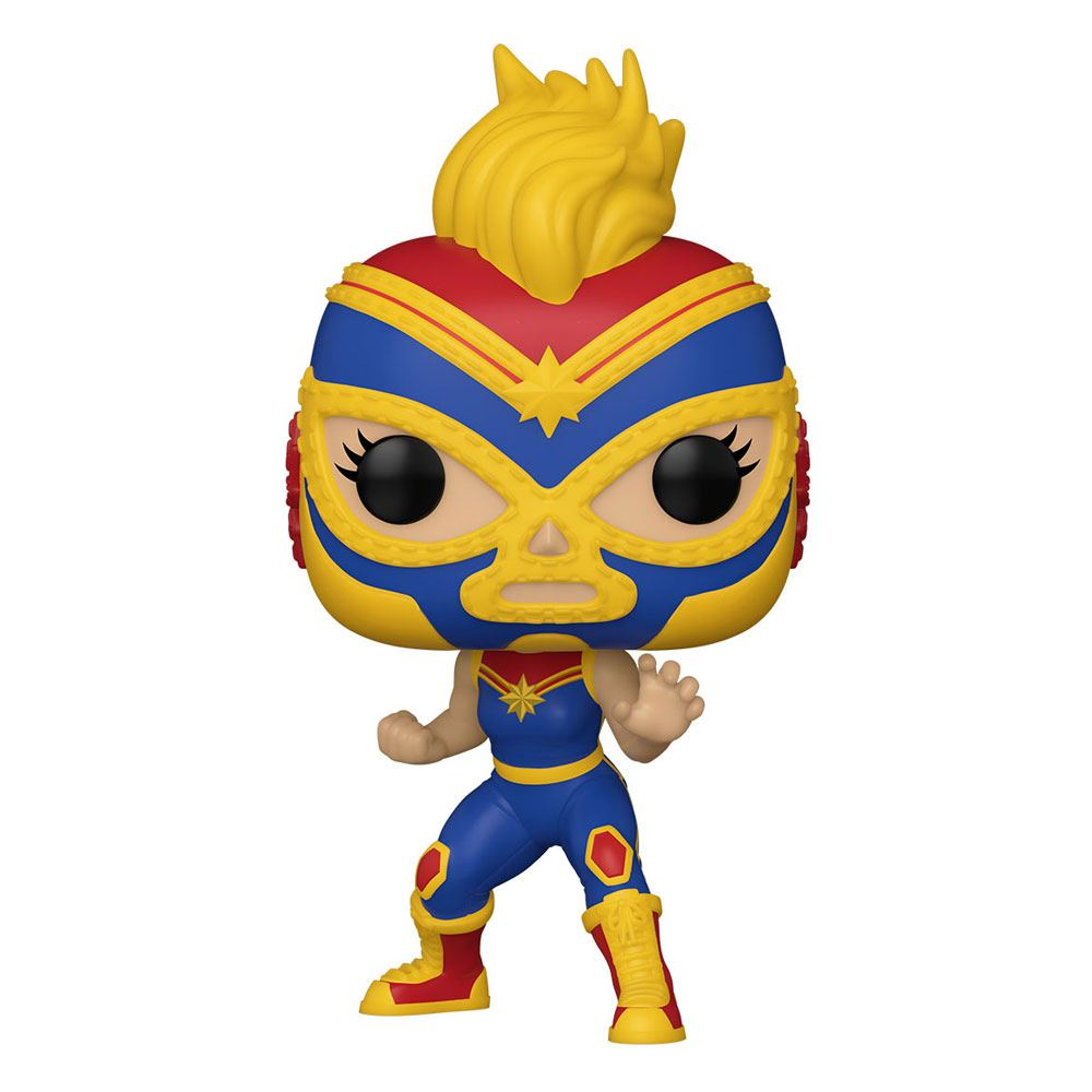 Marvel Luchadores - Captain Marvel Funko POP!