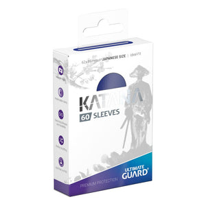 Ultimate Guard - Katana Blue Japanese Size sleeves 60pc