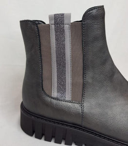 Gabor Sport Stripe Boot - Grey